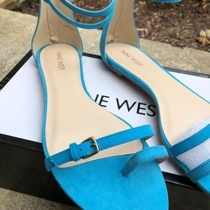 Brand New Turquoise Sandals NWT* NWB*